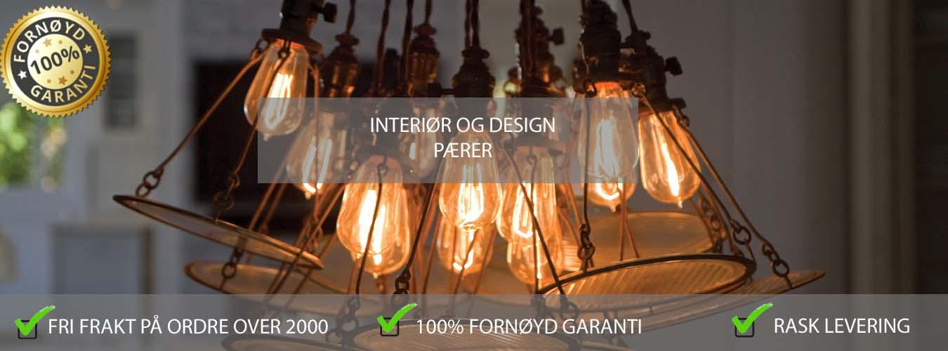 E27 Design LED pærer