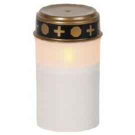 LED GRAVLYS HVIT 12 CM