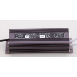 LED Driver, 150w, DC12V/12.5A,Protection:IP67