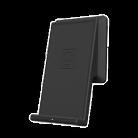 QiWALL® 10W Hvit 3,6A USB-A/C 10W fastcharge Sort