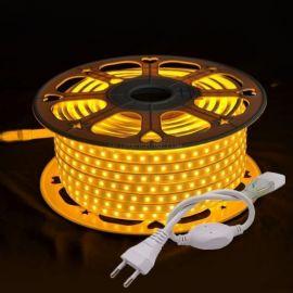 LED Strip 230V Dimbar 2700K, plug and play opptil 50meter