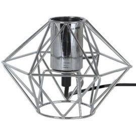 Edge lampeholder i metall 17 cm E27 krom