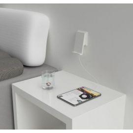 QiWALL® 10W Hvit 3,6A USB-A/C 10W fastcharge