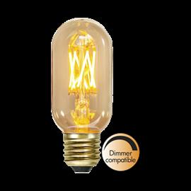 LED pære T45 Vintage Gold E37 3,7W 1800K dimbar