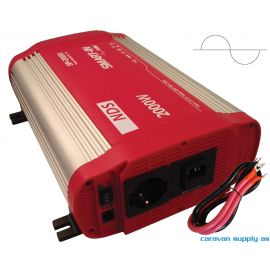 Omformer NDS Smart-In m/IVT SP1500I 1500W ren sinus 12V