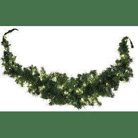 Utvidelse System LED - Girlander 180 cm, Swag, LED (x100), Grønn med Varmhvitt lys