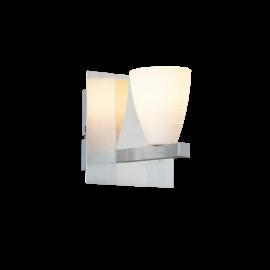 Civic vegglampe - Aluminium