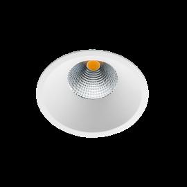 Soft Slim Hvit 9W LED 3000K Ra95 10 års GARANTI