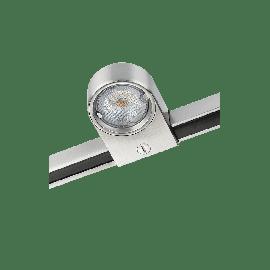 SG Zip Star Børstet stål 5W LED 2700K