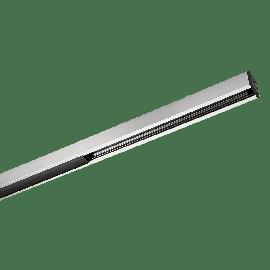 SG Zip 230V Skinne 1,15m Børstet stål