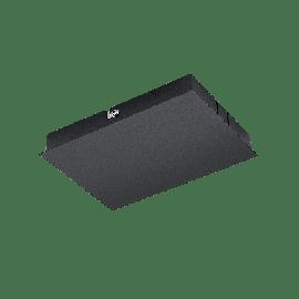 SG Zip 230V Takboxkoppling Sort