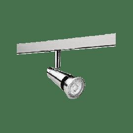 SG Zip 230V Spot DimToWarm Børstet stål 6W LED 2000-2800K