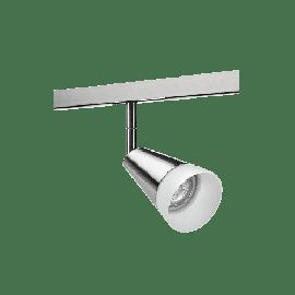 SG Zip 230V Glass spot DimToWarm Børstet stål 6W LED 2000-2800K