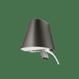 Spike 900 Uplight m/ kontakt Grafitt 11W+6W LED 2700K Ra>80