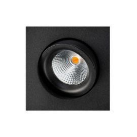 SG Junistar Square IsoSafe DimToWarm Sort 6W LED 2000-2800K Ra>95
