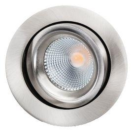 SG Junistar Lux Børstet stål 7W LED 2700K Ra98 10års Garanti