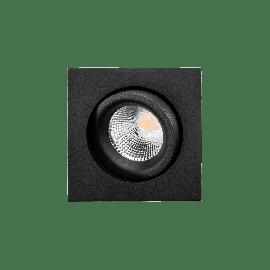 SG Junistar Square Lux Sort 7W LED 2700K Ra 98