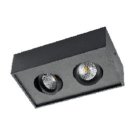 SG Cube 2x DimToWarm Sort 2x6W LED 2000-2800K