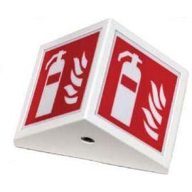 Nødlys. Armatur for markering av brannposter