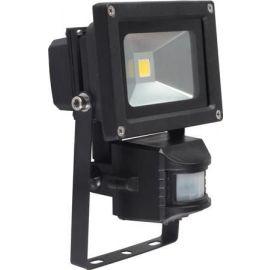 FLOW LED 10W 750LM 3000K SENSOR IP65 SORT