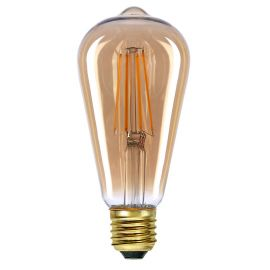 EDISON LANTERNE AMBER LED E27/4W DIMBAR