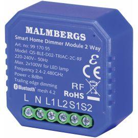 BLUETOOTH SMART BOKSDIMMER, 2-KANAL/SERIEVENDER, INKL. RF, 2X100W LED