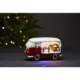 Merryville Van med julenisse - Batteri og timer