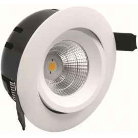 GREVEN TUNE, LED-DOWNLIGHT 230V, 6W, HVIT, IP21