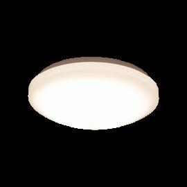 Basic plafond hvit 12W LED 50000h dimmer 3000k