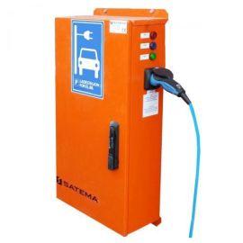 Flyttbar Dobbel ladestasjon for elbil 32A 230V/400V for annleggsdrift