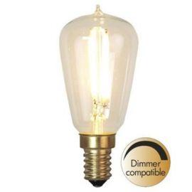 Decoration LED Klar filament lampa E14 2200K 120lm Dimbar