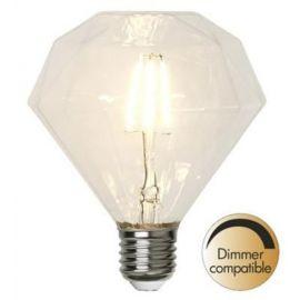 Illumination Diamant LED filament E27 2700K 320lm 3,2W Dim