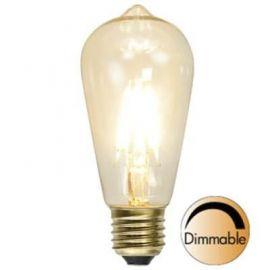 Decoration LED Lanterne klar E27 2200K 320lm 3,6W dimb