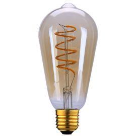 EDISON LANTERNE SPIRAL E27 LED 2200K AMBER