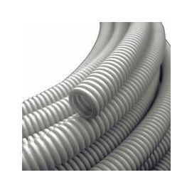 Korrugert rør Ø 25mm grått-met 50 meter