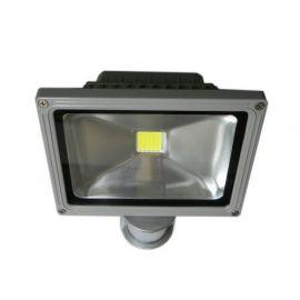 High Power 20W LED Flomlys lampe med bevegelse sensor, AC 85-265V, Luminous Flux: 1600-1800lm, 4000K