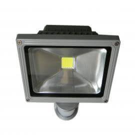 30W LED Flomlys lampe med bevegelsesensor, 4000K