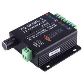 SX-MUSIC 2 RF Fjernkontroll til 12V RGB LED striper