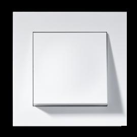 Lysbryter Innfelt Plus 1-pol Hvit ELKO