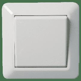 Lysbryter Innfelt RS16/ Hvit 1Pol-El