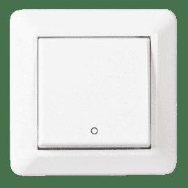 Lysbryter Innfelt RS16/ Hvit 2Pol-El