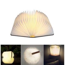 LED lys bok Flip Origami Lampe, oppladbar 500lumen