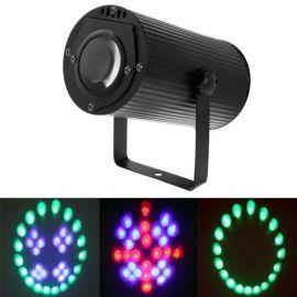 15W LED sene lys, lyd aktivert
