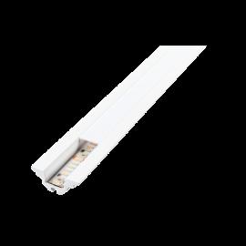 SG StripLine 1,8m Hvit profil hjørne