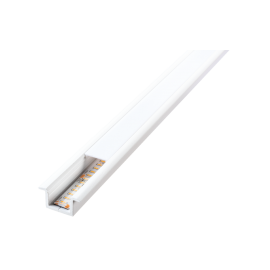 SG StripLine 1,8m Hvit profil innfelt