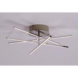 Stick Taklampe Krom Ø:60 4 x 6W LED
