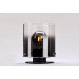 Roxy bordlampe 20 cm - Røykfarget