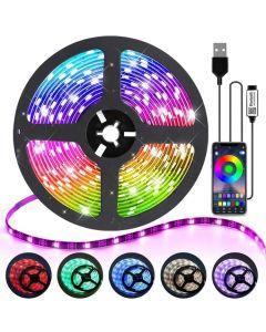 YWXLight 3m 90 LEDs USB  og Bluetooth