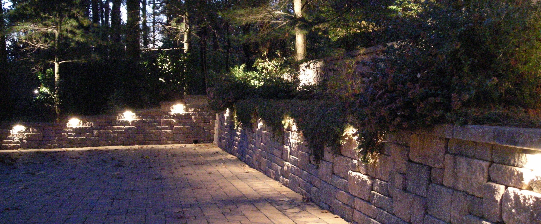 LED hagebelysning